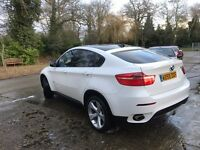 2009 (59) BMW X6 TOP SPEC FULL WITH AND CREAM LEATHER END BLACK ROOF