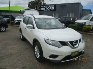 2014 Nissan X-Trail T32 ST (4x4) White Continuous Variable Wagon Heatherbrae Port Stephens Area Preview