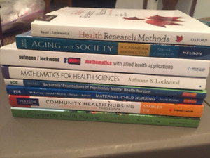 Nursing Textbooks, and other textbooks!