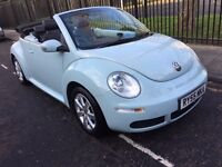 VW VOLKSWAGEN BEETLE 2.0 AUTOMATIC CONVERTIBLE 2005 FACE LIFT 1 OWNER FROM NEW NEW SERVICE NEW MOT