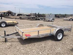 6.5ft x 12ft Open Utility Trailer (ART6.5x12OUL)
