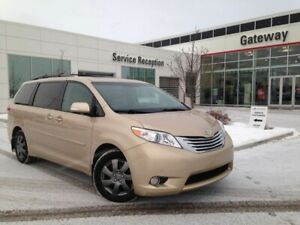 2013 Toyota Sienna Limited AWD 7-Pass, Leather, Nav, DVD Player,