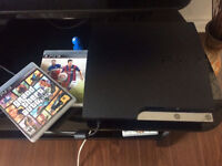 PS3 160GB with GTA V and Fifa 15 OBO