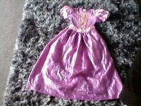 girls disney princess dress age 9/10
