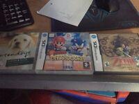3 Nintendo Games