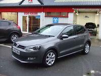 Volkswagen Polo 1.2TDI Match 5 Door Hatch Diesel Car 2012 62 Low Miles £20 TAX
