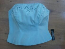 Bridesmaid Dress size 8 -10. New with tags.Can be used with or without straps.