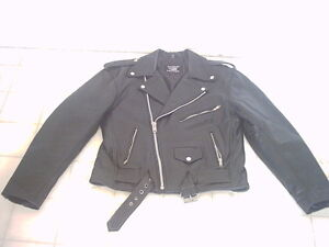 Veste de cuir pour motos - Motorcycle leather jacket