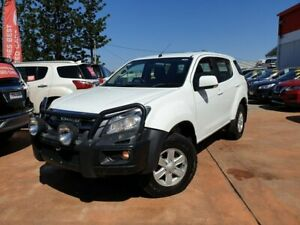 2014 Isuzu MU-X MY15 LS-M Rev-Tronic 4x2 White 5 Speed Sports Automatic Wagon Gympie Gympie Area Preview