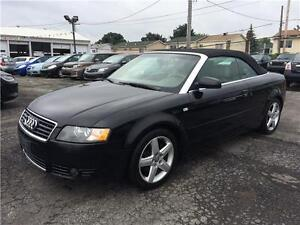 AUDI A4 CONVERTIBLE 2005 AWD AUTOMATIQUE FULL AC MAGS CUIR