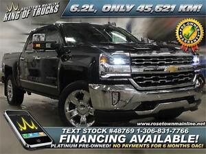 2016 Chevrolet Silverado 1500 LTZ 6.2L | Remaining Factory Warra