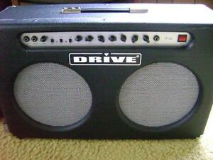 """""""DRIVE"""" G120 80-watt 2x12"""" GUITAR AMP with BOOST & SPRING REVERB Cornwall Ontario image 1"""