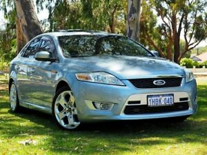 2007 Ford Mondeo MA XR5 Turbo Blue 6 Speed Manual Hatchback Myaree Melville Area Preview