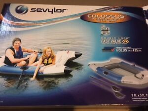 2 Man Brand New Inflatable Boat for Sale - up to 435 lbs