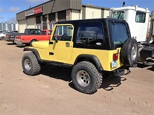 1990 Jeep  YJ Convertible