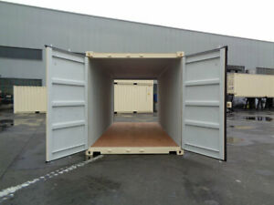 20' NEW Double Door One-Trip Shipping/Seacan Containers for SALE