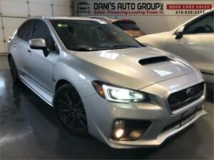 2015 Subaru WRX Sport-tech Pkg Limited 6 Speed No Accidents Nav