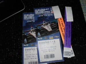 2 Weekend Pass Tickets for the Detroit Grand prix