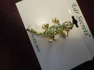 New Gecko/Lizard Brooch Reduced