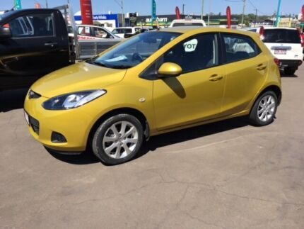 2007 Mazda 2 DE Maxx Yellow 4 Speed Automatic Hatchback South Toowoomba Toowoomba City Preview