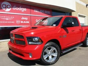 2014 Ram 1500 Sport 4x4 Quad Cab / GPS Navigation / Back Up Came