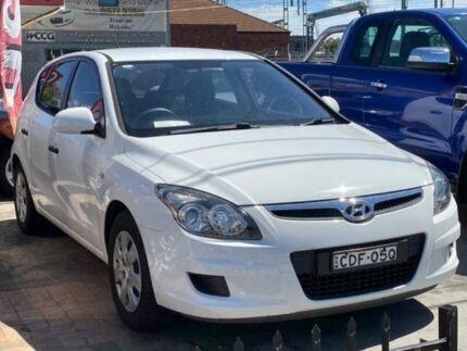 2011 Hyundai i30 FD MY12 SLX White 4 Speed Automatic Hatchback Granville Parramatta Area Preview