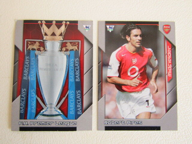 Charlton Athletic X 17 Shoot Out Football 2004-2005 Trading Cards