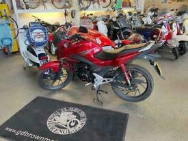 Honda GL 125 Only 9100 miles