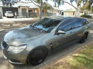 2013 Holden Commodore VF MY14 Evoke Sportwagon Grey 6 Speed Sports Automatic Wagon Broadview Port Adelaide Area Preview