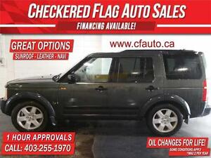 2007 Land Rover LR3 V8 HSE W/ SUNROOF-HEATED LEATHER-NAV-4X4