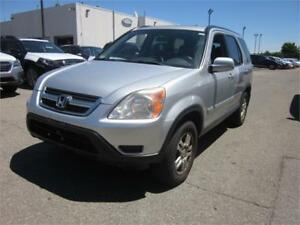 2002 Honda CR-V EX w/Leather