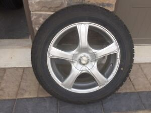 winter tires and rims Bolt Pattern 5 x 114.3
