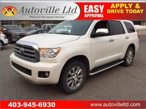 2013 TOYOTA SEQUOIA PLATINUM NAVIGATION BACKUP CAMERA DVD