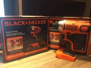Black and Decker Cordless Impact Driver