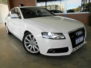 2008 Audi A4 B8 (8K) 3.2 FSI Quattro White 6 Speed Tiptronic Sedan St James Victoria Park Area Preview