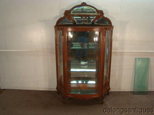 53008:Beautiful Golden Quartersawn Oak French Victorian 1800