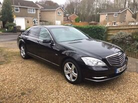 2011(61) - MERCEDES S-CLASS 350L CDI BlueTec 7G-Tronic Plus - FULL M/B/S/H
