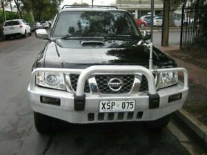 2008 Nissan Patrol GU VI ST (4x4) Obsidian Black 5 Speed Manual Wagon Prospect Prospect Area Preview