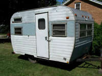 WANTED 13 FT CAMPER