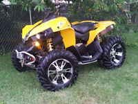 08 CAN AM RENEGADE 800 HIGH OUT PUT