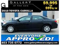 2010 Toyota Corolla AT $99 Bi-Weekly APPLY NOW DRIVE NOW