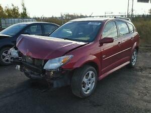 parting out 2007 pontiac vibe