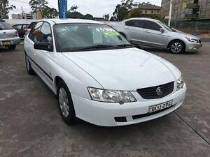 2003 Holden Commodore VY White Automatic Sedan Homebush Strathfield Area Preview