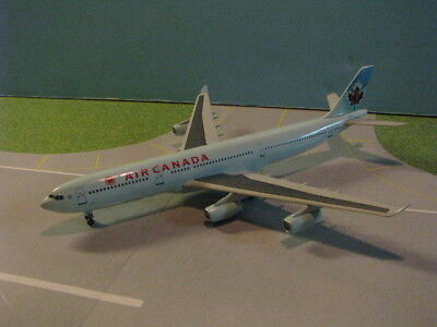 Dragon Wings  55790  Air Canada  Nc  A340 300 1 400 Scale Diecast Metal Model