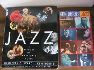 Ken Burns on Jazz and 5 cd musical companion, & several cds