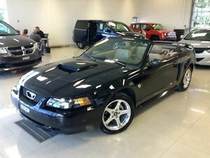 2004 Ford Mustang GT Deluxe CONVERTIBLE V8 CUIR MAGS VITRES TEIN