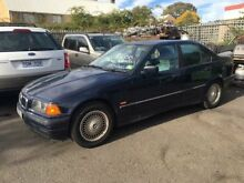 1997 BMW 318I 18I Blue 4 Speed Automatic Sedan Campbelltown Campbelltown Area Preview