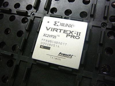 Xilinx Virtex Ii Pro Xc2vp20 Xc2vp20 6Ff896c Ic Fpga 556 I O 896Fcbga    New