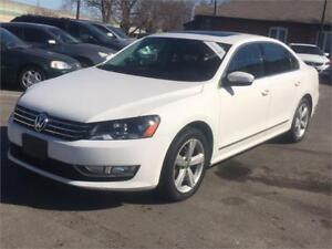 2013 Volkswagen Passat TDI-LEATHER-ROOF-NO ACCIDENTS