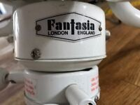 REDUCED Fantasia Ceiling Fan In White With Lights x 2